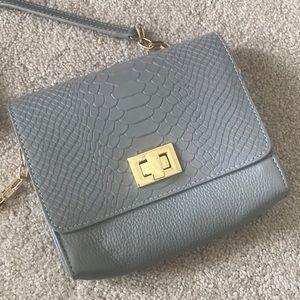 Grey Gigi New York Crossbody Bag
